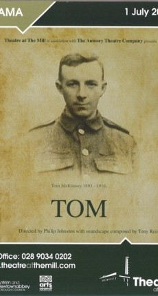 Picture for blog story 'Philip Johnston new play 'Tom' set to open soon'